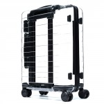 "90 GOFUN Stylish Suitcase 20"" Transparent"