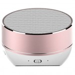 QCY Portable Bluetooth Speaker QQ800 Rose Gold