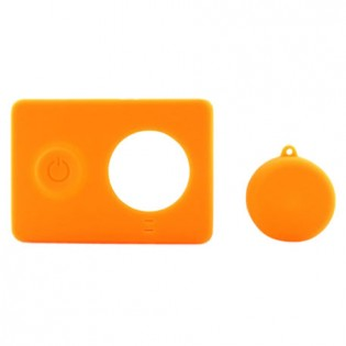 Yi Action Camera Silicone Protective Case Orange