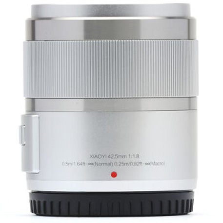 Yi M1 Mirrorless Digital Camera Prime Lens Chinese Version Silver