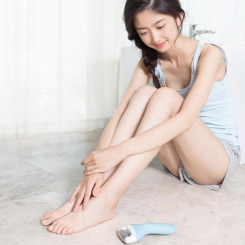 Xiaomi Yueli Electric Foot File And Callus Remover Blue Soft Heels